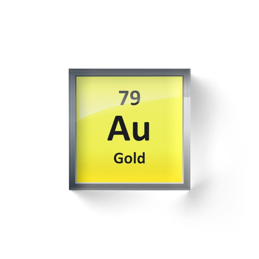 Symbol for gold on periodic table choice image periodic table images au symbol periodic table gallery periodic table images gold chemical element symbol periodic table acrylic blocks gamestrikefo Images