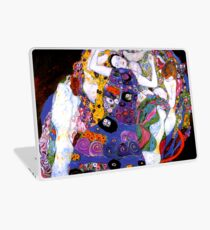 The Virgin by Gustav Klimt Fine Art  Laptop Skin