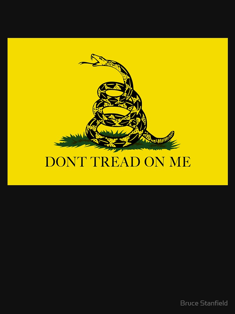 La bandera de Gadsden Do not Tread On Me - Versión auténtica de Bruiserstang