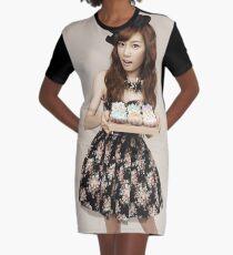 TaeYeon SNSD Girls Generation KPOP Graphic T-Shirt Dress