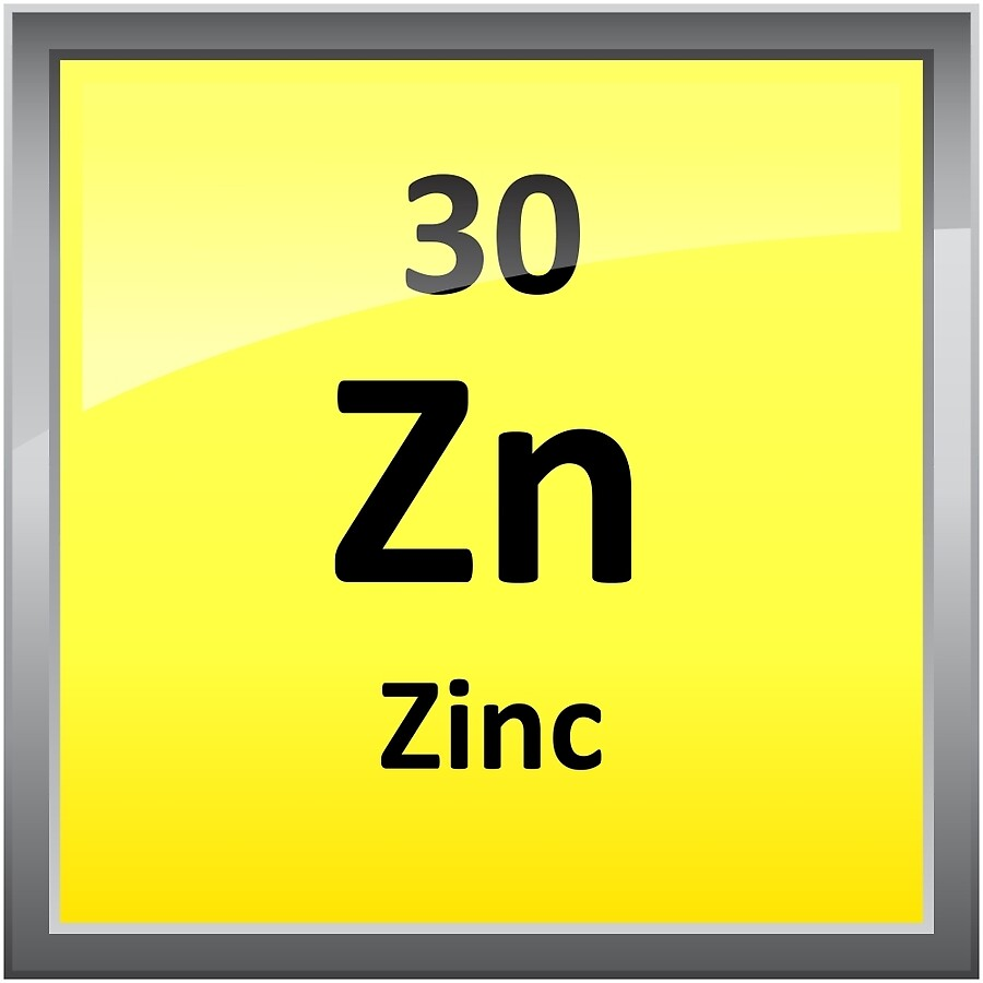 Zinc element symbol periodic table art boards by sciencenotes zinc element symbol periodic table gamestrikefo Image collections