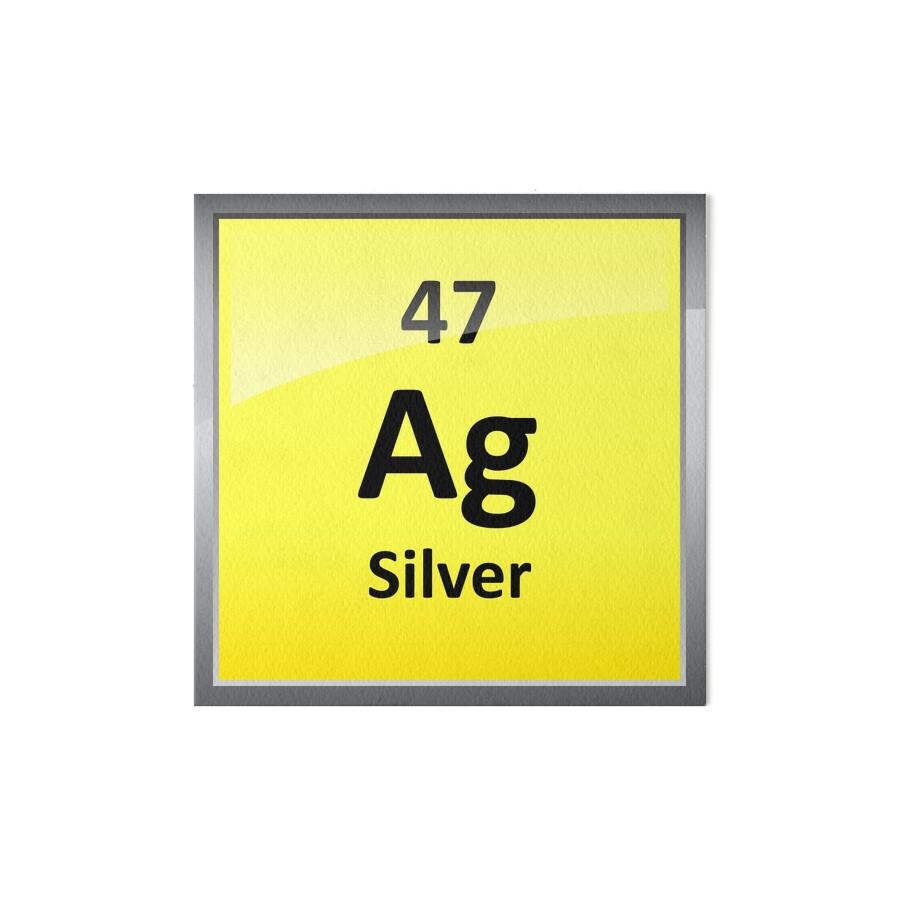 Silver element symbol periodic table art boards by sciencenotes silver element symbol periodic table by sciencenotes gamestrikefo Images
