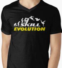 Evolution Parkour Men's V-Neck T-Shirt