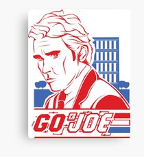 Go Joe (Macmillan) T-Shirt Canvas Print