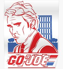 Go Joe (Macmillan) T-Shirt Poster