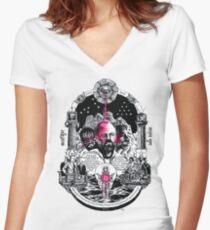 V.A.L.I.S Women's Fitted V-Neck T-Shirt