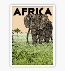 AFRIKA Sticker