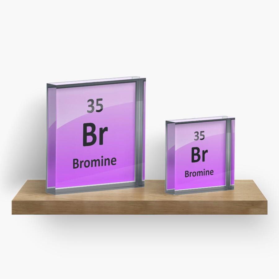 Bromine element symbol periodic table acrylic blocks by bromine element symbol periodic table biocorpaavc