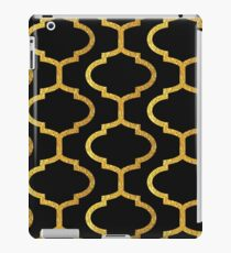 Gold mughal lattice Pattern iPad Case/Skin