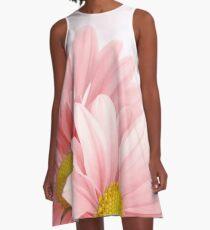 Flowers Art Abstract A-Line Dress