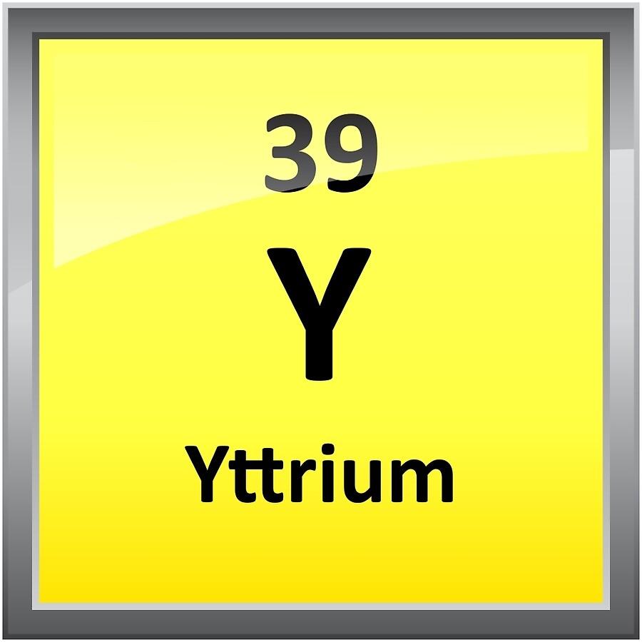 Yttrium element symbol periodic table acrylic blocks by yttrium element symbol periodic table gamestrikefo Gallery