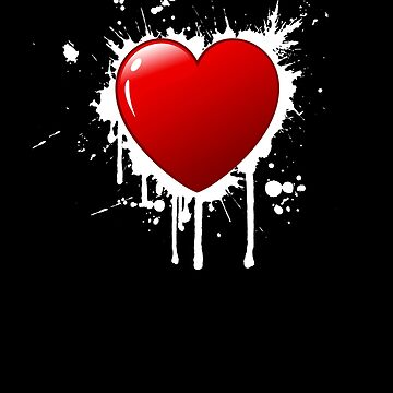 HEART and splatter by cogtees