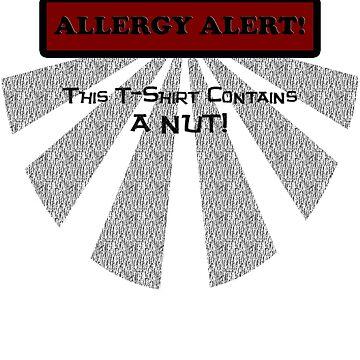 Allergy Alert -- NUT! by cogtees