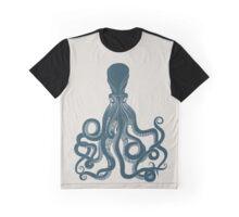 Octopus Scientific Illustration Graphic T-Shirt
