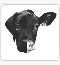 Animal Equality - (Black & White) Sticker
