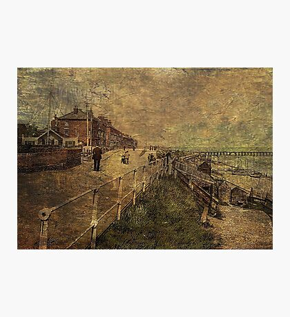 A Stroll Along the Seafront Photographic Print