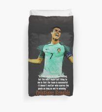 UEFA EURO 2016 RONALDO Duvet Cover