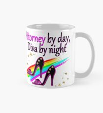 ATTORNEY BY DAY, DIVA BY NIGHT SHOE QUEEN Mug