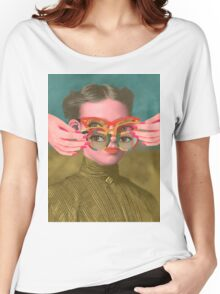TRIFOCALS T-shirt femme coupe relax