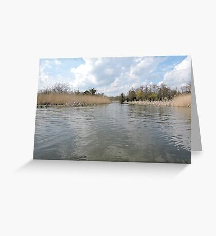 Across The Water: Thorpeness Greeting Card