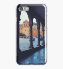 Plaza de Armas Arches iPhone Case/Skin