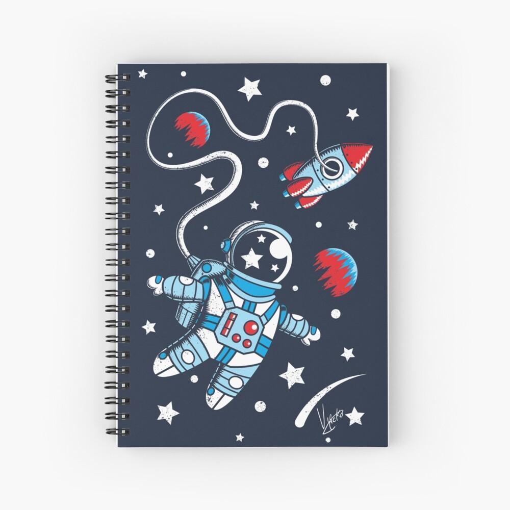 Space Walk Spiral Notebook