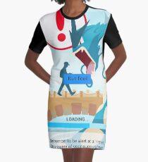 WARNING!!! Graphic T-Shirt Dress