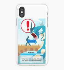 WARNING!!! iPhone Case/Skin