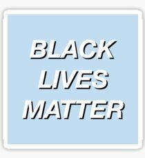 BLACK LIVES MATTER Sticker
