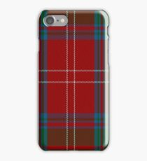 01985 The Chisholm (MacGregor-Hastie) Clan/Family Tartan iPhone Case/Skin