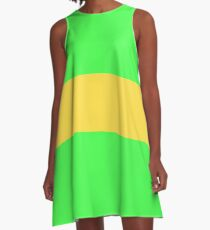SHIRT AND DRESS INSPIRED BY CHARA FROM UNDERTALE A-Line Dress