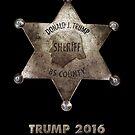 Trump the Sheriff. by Alex Preiss