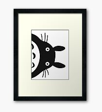 Surprise,Totoro! Framed Print