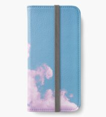 Cotton Candy Sky iPhone Wallet