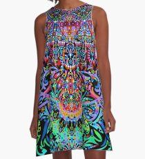 Mandala Energy A-Line Dress