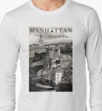 Camiseta de manga larga Manhattan - Pearl of the Orient