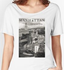 Manhattan - Pearl of the Orient Women's Relaxed Fit T-Shirt