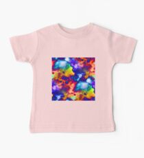 Colorful Abstract Digital Painting Kids Clothes