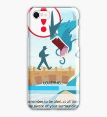 Beware your surroundings! iPhone Case/Skin