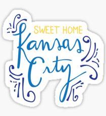 Sweet Home Kansas City Sticker