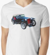 Black Mg Tc Antique Car T-Shirt