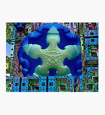 Stay Puft Marshmallow Man Invades NYC Photographic Print
