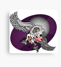 Mutant Zoo - Cowl Canvas Print