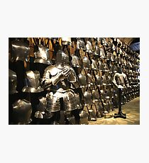 The Fashion Parade of Armour for the Ordinary Soldier Photographic Print