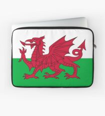 National flag of Wales - High Quality Authentic version Laptop Sleeve
