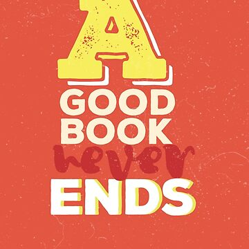 A good book never ends by whoviandrea