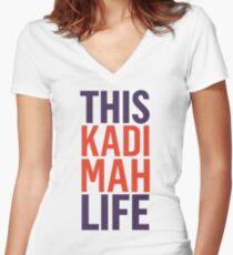 This Kadimah Life Women's Fitted V-Neck T-Shirt