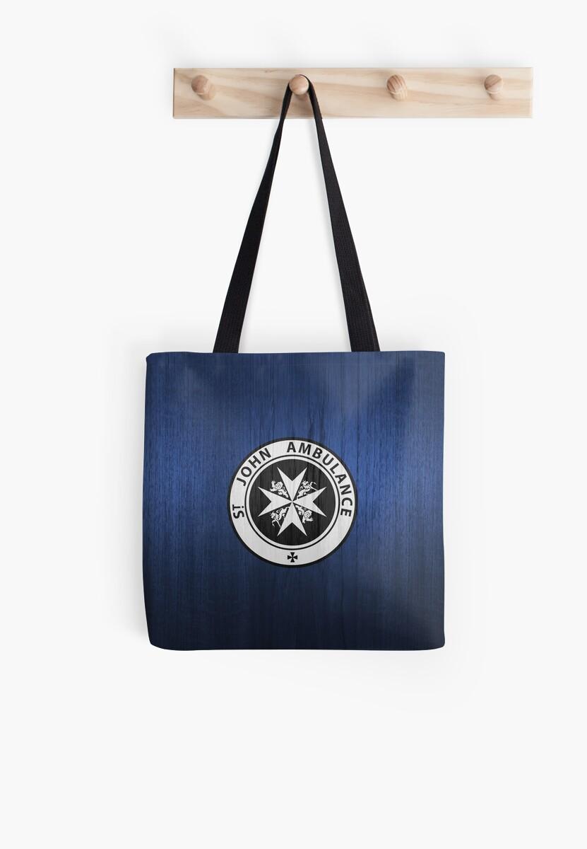 St. John logo on a Blue Box by TerryLightfoot