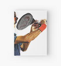 Roger Federer in action Hardcover Journal