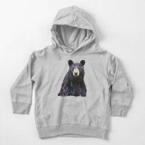 Black Bear Toddler Pullover Hoodie